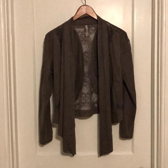 Milia Lightweight Grey Suede Jacket/coat